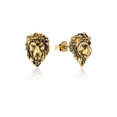 Disney_The_Lion_King_Adult_Simba_Yellow_Gold_Stud_Earrings_DLYE215_400x